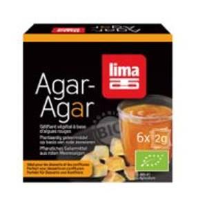 Bilde av Lima Agar-Agar vegetabilsk gelatin 6 x 2 g