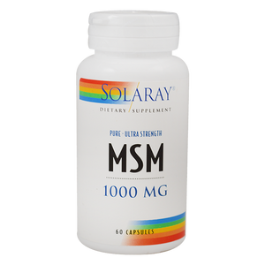 Bilde av Solaray MSM 1000 mg 60 kapsler