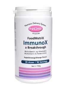 Bilde av NDS ImmunoX a Breakthrough 750 g pulver