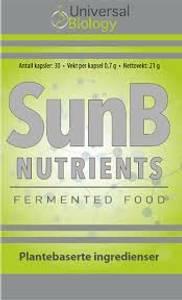 Bilde av SunB Nutrients 30 kapsler