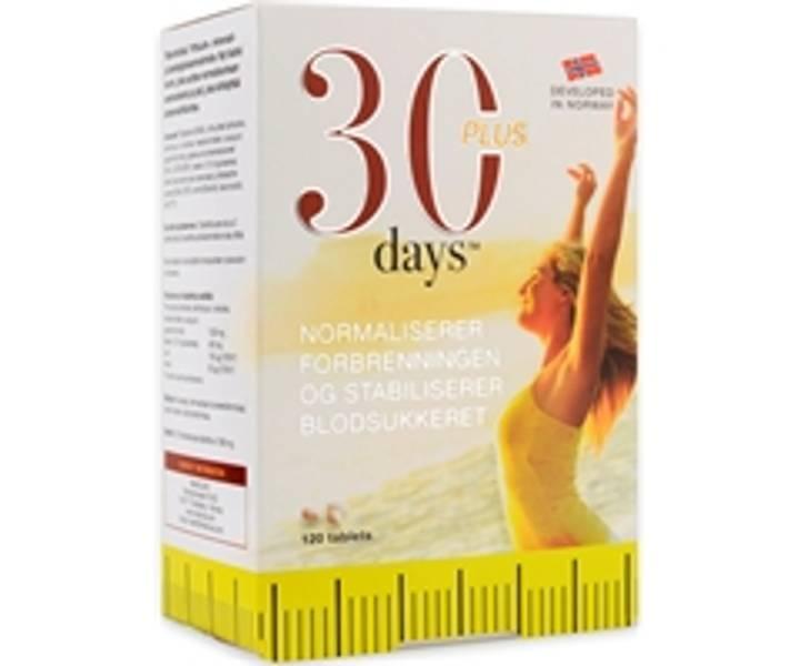 30 Days Plus 120 tabletter