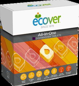 Bilde av Ecover Maskinoppvask tabletter All-in-One 25 tabletter