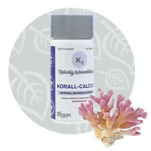Bilde av Biosan Korall-Calsium 120 tabletter