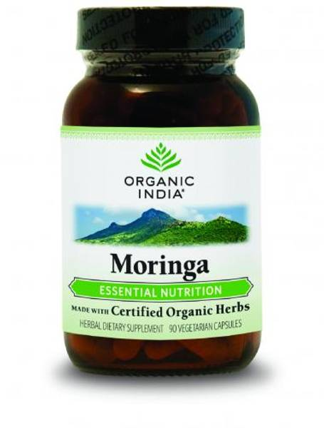 Organic India Moringa 90 kapsler