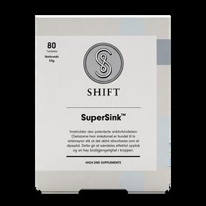 Bilde av SHIFT SuperSink 25 mg 80 tabletter