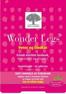 Bilde av Wonder Legs 30 tabletter New Nordic