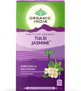 Bilde av Organic India Tulsi Jasmine Tea 25 poser