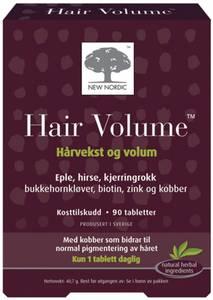 Bilde av Hair Volume 90 tabletter New Nordic
