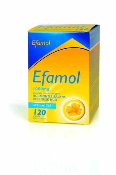 Efamol GLA nattlysolje 120 kapsler