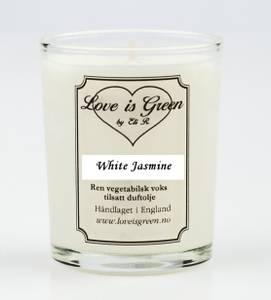 Bilde av Love is Green Duftlys White Jasmine
