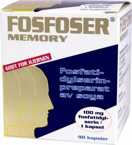 Bilde av Fosfoser Memory 90 kapsler