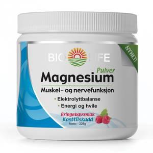 Bilde av Bio-Life Magnesium pulver 226 g