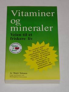 Bilde av BOK Vitaminer og mineraler