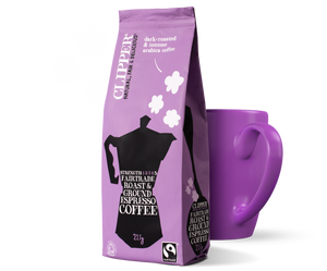 Bilde av Clipper Coffee Espresso Roast & Ground 227g