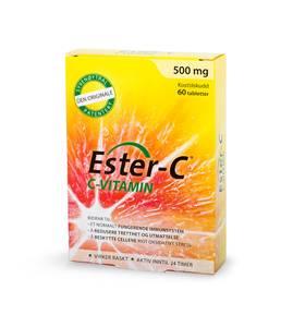 Bilde av Ester-C den originale 500 mg 60 tabletter