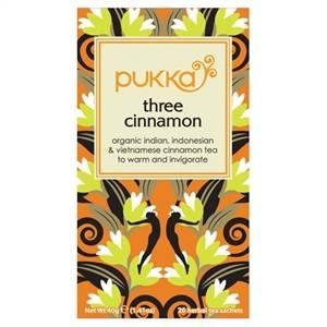 Bilde av Pukka Three Cinnamon Tea 20 poser