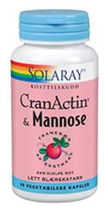 Bilde av Solaray CranActin & D-Mannose 60 kapsler