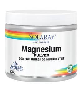 Bilde av Solaray Magnesium PULVER 225g