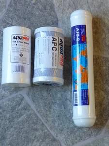 Bilde av Filtersett til AquaPro 604/608/612 RO