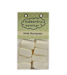 Bilde av Sukkerfrie nytelser Hvite skumputer
