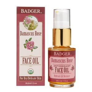 Bilde av Badger Damascena Rose Ansiktsolje 29,5 ml