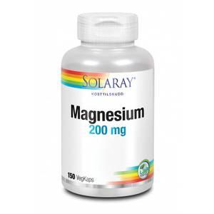 Bilde av Solaray Magnesium 200 mg 150 kapsler