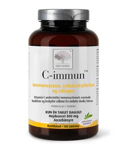 Bilde av C-immun 800 mg 180 tabletter New Nordic