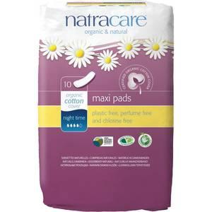Bilde av Natracare Nattbind Maxi ekstra langt 10 stk