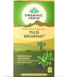 Bilde av Organic India Tulsi Breakfast Tea 25 poser