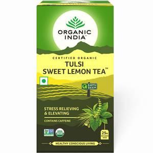 Bilde av Organic India Tulsi Sweet Lemon Tea 25 poser