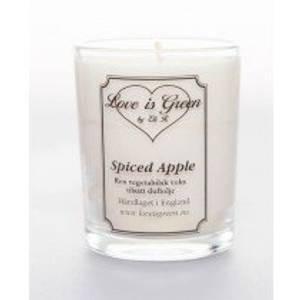 Bilde av Love is Green Duftlys Spiced Apple