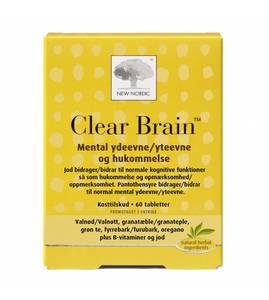 Bilde av Clear Brain 60 tabletter New Nordic