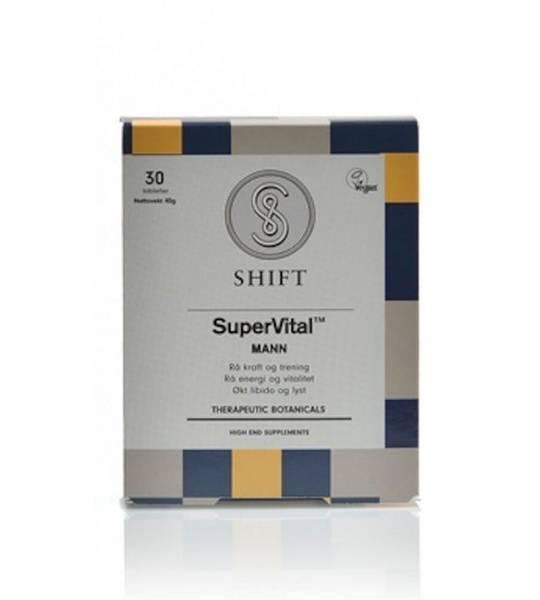 SHIFT SuperVital MANN 30 tabletter