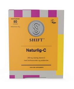 Bilde av SHIFT SuperNaturlig-C 200 mg 80 tabletter