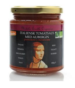 Bilde av Middle Earth Tomatsaus med aubergine 300g