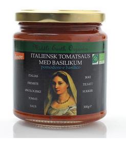 Bilde av Middle Earth Tomatsaus med basilikum 300g
