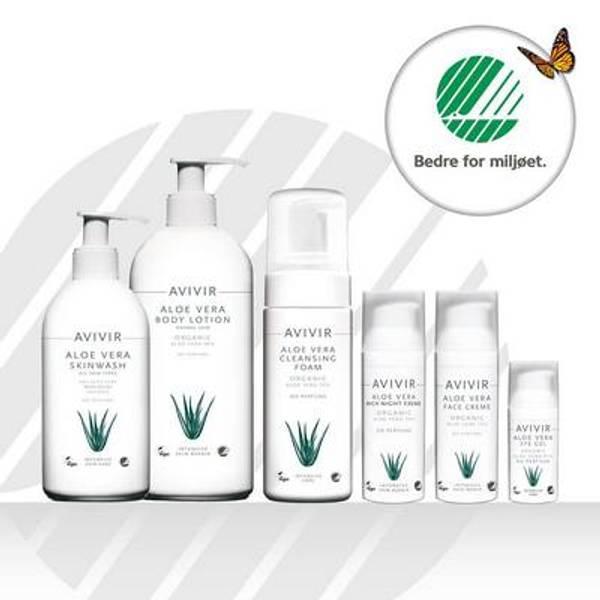 AVIVIR Aloe Vera økologiske hudpleie og hårpleieprodukter
