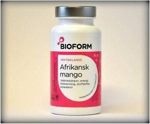 Bilde av Bioform afrikansk mango 60 kapsler