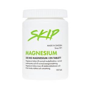 Bilde av SKIP Magnesium 250 mg 100 tabl