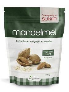 Bilde av Mandelmel fettredusert 400 g