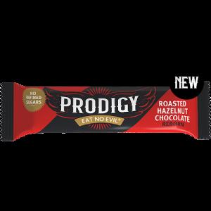 Bilde av Prodigy Chunky Roasted Hazelnut Chocolate Bar
