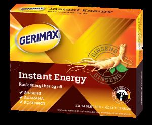 Bilde av Gerimax instant energy 30 tbl