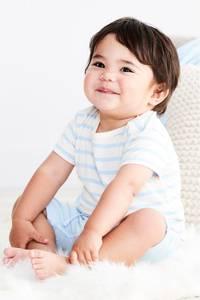 Bilde av Baby T-shirt med striper