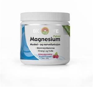 Bilde av Bio life Magnesium pulver 225 gr