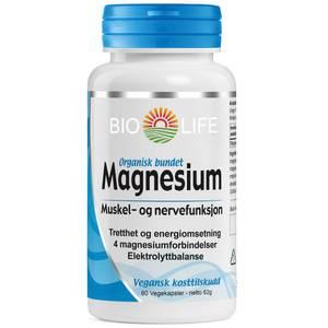 Bilde av Bio life Magnesium 60 kpsl