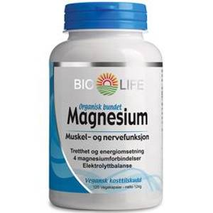 Bilde av Bio life Magnesium 120 kpsl