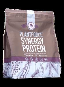 Bilde av Plantforce synergi protein sjokolade 800 g