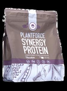 Bilde av Plantforce synergi protein sjokolade 400 g