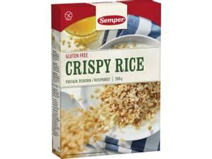 Bilde av Semper crispy rice (frokostblanding) 300g