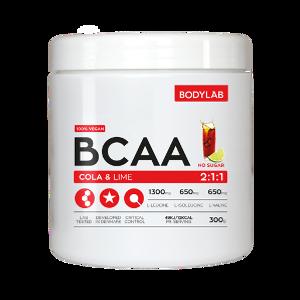 Bilde av Bodylab BCAA Cola lime 300 gram
